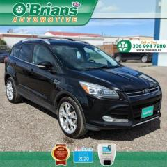 Used 2013 Ford Escape Titanium w/EcoBoost, Command Start, Leather, AWD for sale in Saskatoon, SK