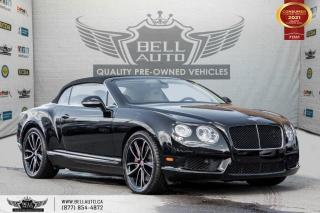 Used 2013 Bentley Continental GT V8 COUPE, CABRIOLET, AWD, NAVI, REAR CAM, TWN TURBO for sale in Toronto, ON