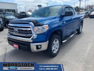 Used 2017 Toyota Tundra SR5 Plus Package  - One owner for sale in Woodstock, ON
