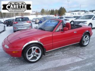 Used 1990 Mazda Miata MX-5 Convertible for sale in East broughton, QC