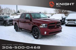 New 2019 RAM 1500 Classic Express Crew Cab | Heated Seats and Steering Wheel | Remote Start for sale in Swift Current, SK