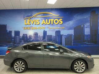 Used 2013 Honda Civic EX TOUT EQUIPE TOIT OUVRANT/CAMERA/BLUET for sale in Lévis, QC