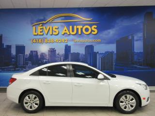 Used 2012 Chevrolet Cruze LT TURBO TOUT EQUIPE AIR CLIMATISE/BLUET for sale in Lévis, QC