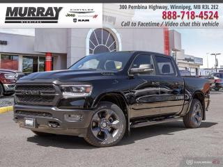 New 2020 RAM 1500 Big Horn 4x4 Crew Cab 5'7  Box for sale in Winnipeg, MB