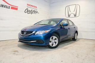 Used 2015 Honda Civic LX Automatique for sale in Blainville, QC