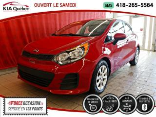 Used 2017 Kia Rio LX+* 5 PORTES* SIEGES CHAUFFANTS* for sale in Québec, QC