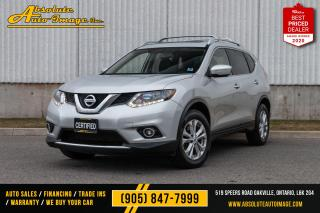 Used 2015 Nissan Rogue,7seats,Nav,Cam,Pano,No accident SV for sale in Oakville, ON