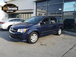 Used 2016 Dodge Grand Caravan CVP | SE Plus | No Accidents | Stow N Go for sale in North York, ON