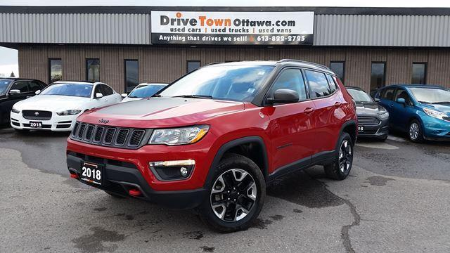 2018 Jeep Compass Trailhawk 4x4  **$77.00 Weekly**Taxes included**Zero Down**