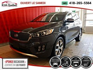 Used 2017 Kia Sorento SX* TURBO* AWD* GPS* TOIT PANO* CUIR* for sale in Québec, QC