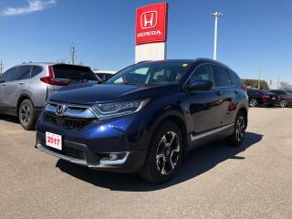 Used 2017 Honda CR-V Touring HEATED SEATS | GPS NAVIGATION SYSTEM | HONDA SENSING TECHNOLOGIES for sale in Cambridge, ON