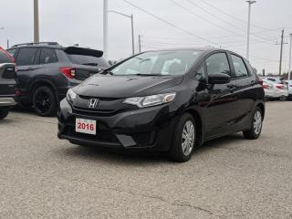 Used 2016 Honda Fit LX ECON MODE | REARVIEW CAMERA WITH DYNAMIC GUIDELINES | HEATED SEATS for sale in Cambridge, ON