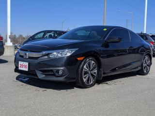 Used 2016 Honda Civic EX-T BRAKE HOLD | HEATED SEATS | APPLE CARPLAY™ & ANDROID AUTO™ CONNECTIVITY for sale in Cambridge, ON