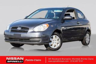 Used 2011 Hyundai Accent GL A/C / AUTOMATIQUE / DÉMARREUR A DISTANCE for sale in Montréal, QC