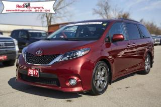 Used 2017 Toyota Sienna SE 8 Passenger Tech Package! for sale in Hamilton, ON