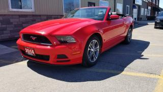 Used 2014 Ford Mustang V6 Premium-AUTO-LEATHER-BLUETOOTH-PWR SEAT-ALLOYS for sale in Tilbury, ON