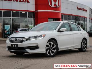 Used 2016 Honda Accord LX   Alloy's   Rear Camera   2.4L 185HP   Dual Zone for sale in Milton, ON