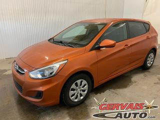 Used 2016 Hyundai Accent GL Hatchback A/C Sièges Chauffants Bluetooth for sale in Trois-Rivières, QC