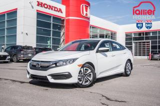 Used 2016 Honda Civic GARANTIE LALLIER MOTO-PROPULSEUR 10ANS/200,000 KIL P5019  BLANC for sale in Terrebonne, QC