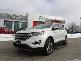 Used 2016 Ford Edge Titanium for sale in Timmins, ON