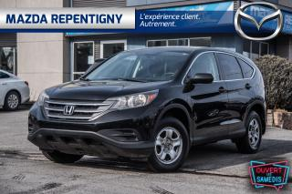 Used 2014 Honda CR-V AWD 5dr LX - Camera - Sieges. Chau - Bluetooth - for sale in Repentigny, QC