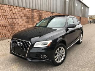Used 2014 Audi Q5 QUATTRO-3.0L-TDI-TECHNIK-NAVI-CAMERA-BLIND SPOT for sale in Toronto, ON