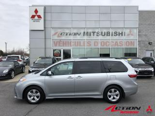 Used 2019 Toyota Sienna LE 8-Passenger/BLUETOOTH/CAM RECUL/SIEGE CHAUFF for sale in St-Hubert, QC