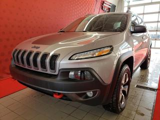 Used 2018 Jeep Cherokee *TRAILHAWK*AWD*CAMÉRA*CUIR*GPS* for sale in Québec, QC