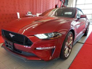 Used 2019 Ford Mustang *GT*PREMIUM*GPS*CAMÉRA*CUIR*CONVERTIBLE* for sale in Québec, QC