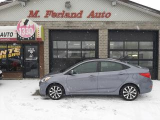 Used 2017 Hyundai Accent Berline 4 portes, boîte automatique, GLS for sale in Sherbrooke, QC