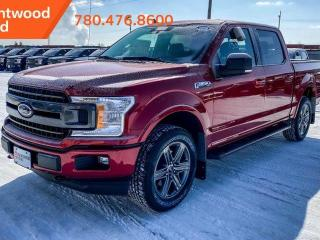 New 2020 Ford F-150 XLT 302A | 4X4 SuperCrew | 2.7 L Ecoboost | Sport Appearance PKG | Heated Seats | Rear Sliding Window | Pre-Collision Assist | Rear View Camera | Remote Keyless Entry | for sale in Edmonton, AB