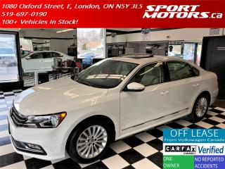 Used 2016 Volkswagen Passat Comfortline+ApplePlay+Roof+New Tires+Accident Free for sale in London, ON