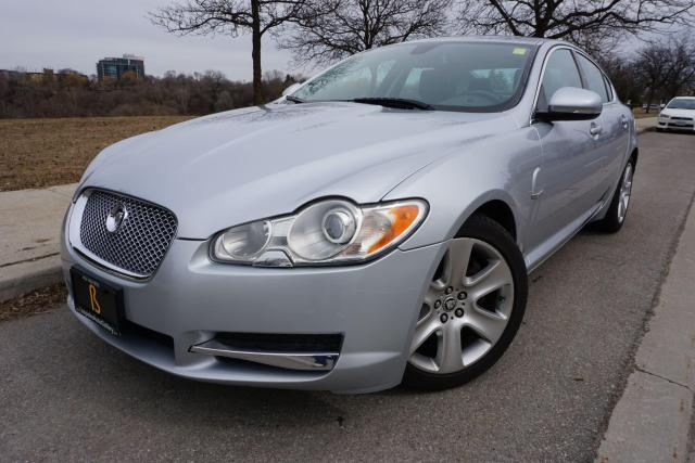 2010 Jaguar XF DEALER SERVICED / NO ACCIDENTS / SUPER LOW KM'S