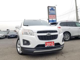 Used 2013 Chevrolet Trax LTZ LEATHER SUNROOF for sale in Brampton, ON