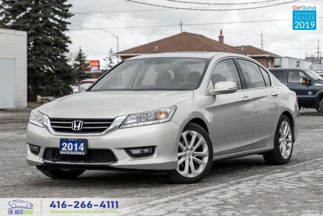 2014 Honda Accord Touring|Clean Carfax|Navi|Backup Cam|Keyless Entry