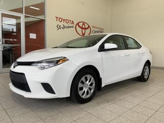 Used 2015 Toyota Corolla * CE * A/C * VITRES ELECT * BLUETOOTH * for sale in Mirabel, QC