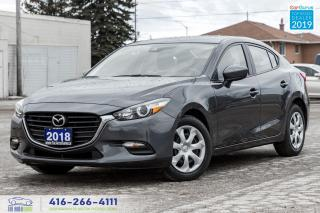Used 2018 Mazda MAZDA3 GX|Clean Carfax|Keyless Entry|Backup Cam|Bluetooth for sale in Bolton, ON