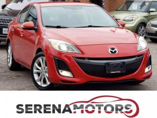 Used 2010 Mazda MAZDA3 GT | 2.5 | 6 SPEED MANUAL | HTD SEATS | ONE ONWER for sale in Mississauga, ON