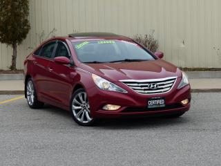 Used 2013 Hyundai Sonata LIMITED,LEATHER, FULL OPTION,SUNROOF,NO-ACCIDENTS, for sale in Mississauga, ON