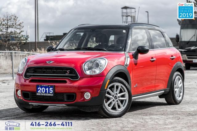 2015 MINI Cooper Countryman S|ALL4|AWD|Pano.Roof|HTD Seats|Alloys|Clean Carfax
