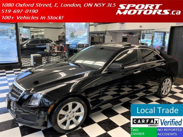2013 Cadillac ATS ATS 2.0 Turbo+Camera+Roof+New Brakes+Accident Free