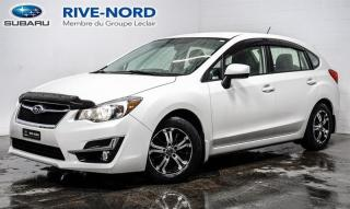 Used 2016 Subaru Impreza BLUETOOTH+CAM.RECUL+SIEGES.CHAUFFANTS for sale in Boisbriand, QC