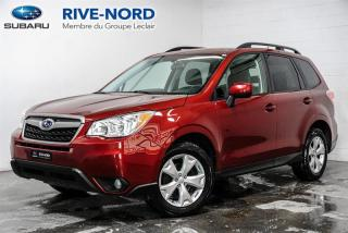 Used 2015 Subaru Forester Convenience MAGS+CAM.RECUL+SIEGES.CHAUFFANTS for sale in Boisbriand, QC