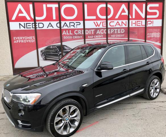 2017 BMW X3 X3-ALL CREDIT ACCEPTED