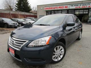 Used 2015 Nissan Sentra SV-CAMERA-HEATED SEAT-BLUETOOTH-ALLOY for sale in Scarborough, ON