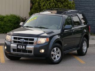 Used 2008 Ford Escape LEATHER,LIMITED,4WD,LOW KMS,FULLY LOADED,REDUCED for sale in Mississauga, ON