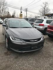 Used 2015 Chrysler 200 PRE-OWNED CERTIFIED - ONE OWNER LIKE NEW for sale in Toronto, ON