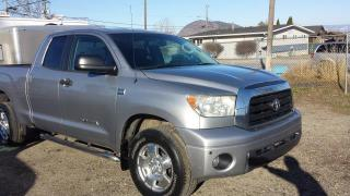 Used 2007 Toyota Tundra SR5 DOUBLE CAB 4WD for sale in West Kelowna, BC