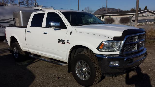 2015 RAM 2500 Laramie Crew Cab Swb