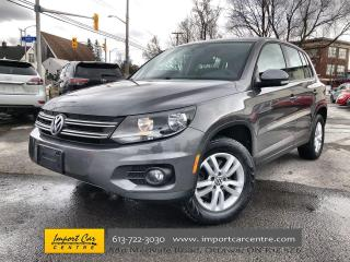 Used 2014 Volkswagen Tiguan Trendline 4MOTION AWD  ALLOYS  LOW KMS for sale in Ottawa, ON